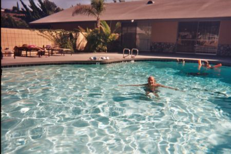 Bill at pool
